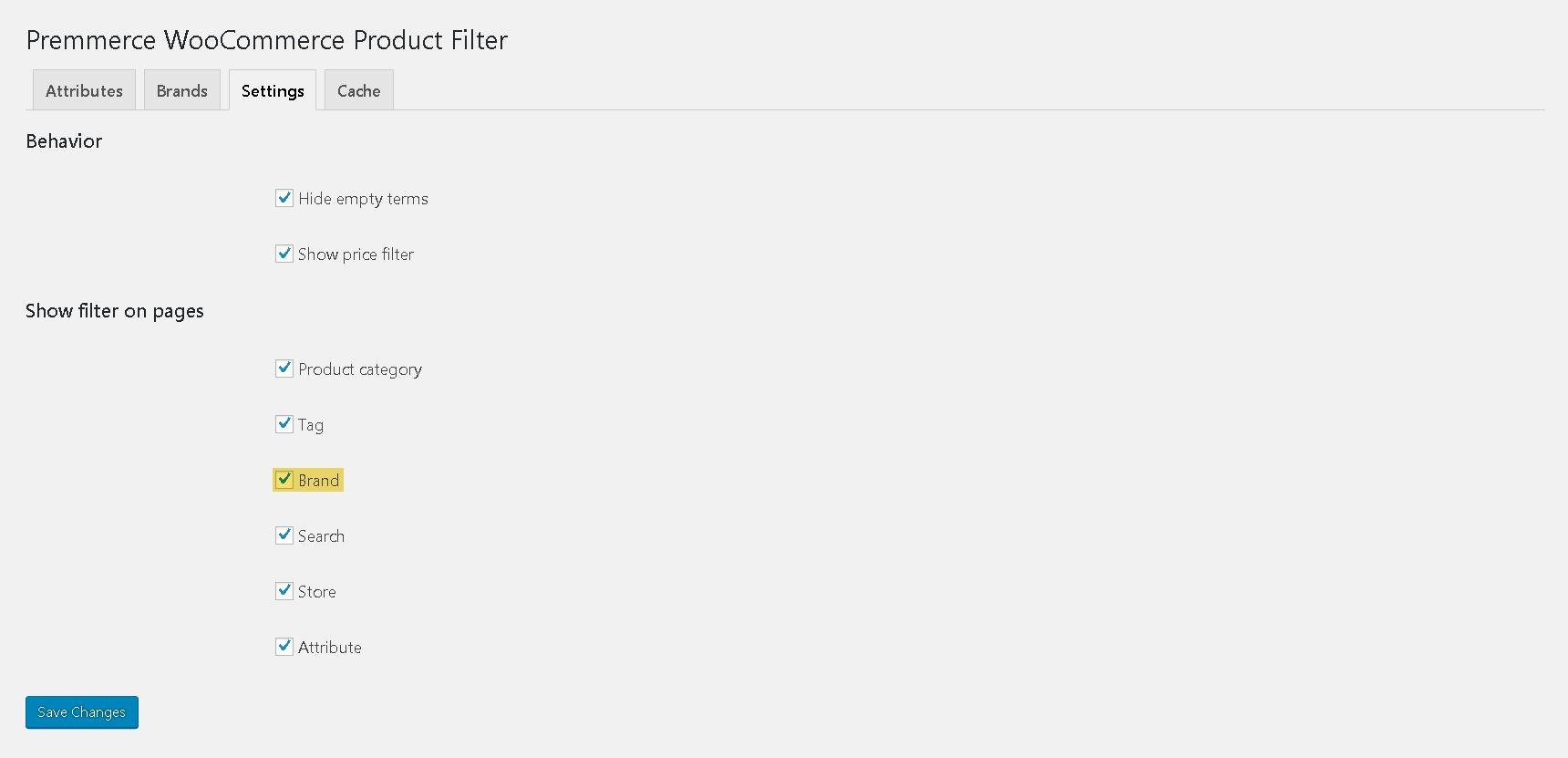 Не активен фильтр по цвету