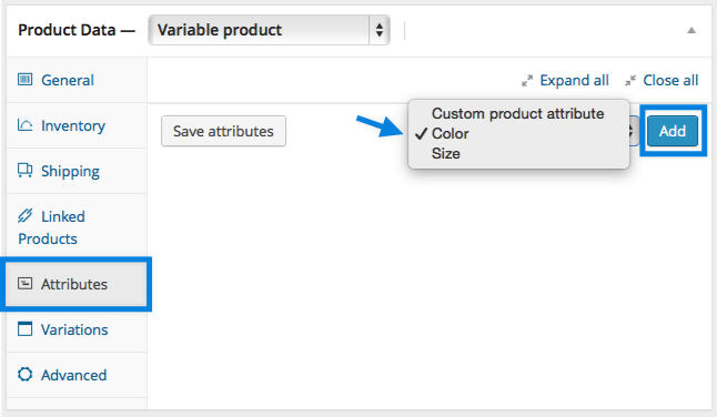 Adding Global Attribute to Product WooCommerce