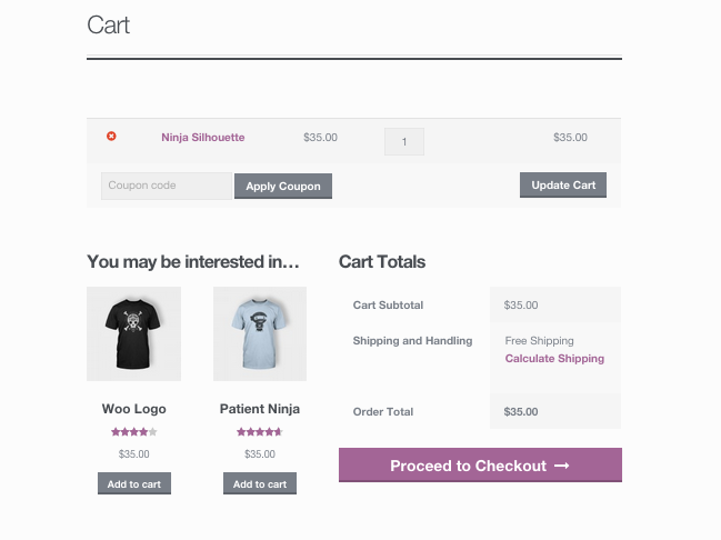WooCommerce - Cross Sells