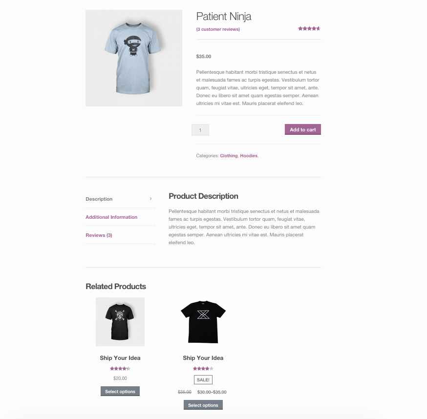 WooCommerce - Related Products